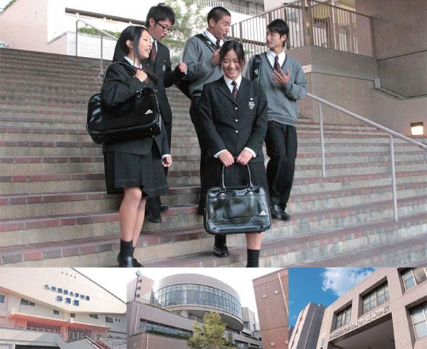 九州屈指の「文武両道校」として、常に心と身体のレベルアップを目指す。