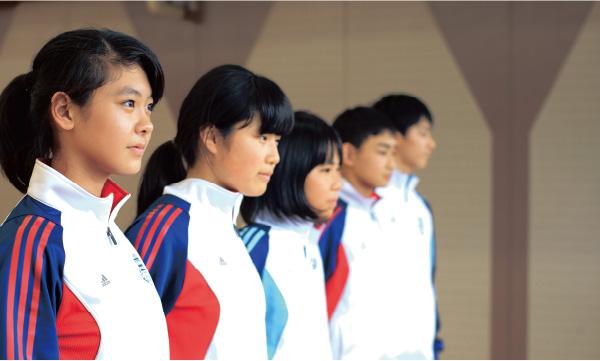 体操服をadidasに変更。それが、学校改革を目指す熱いプロジェクトにつながった。